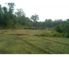 Wonderful scenic 5 acres river side land for sale near Sonda, Sirsi